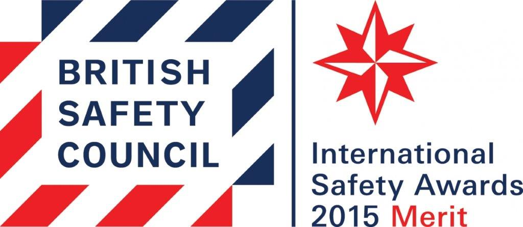 We have won an International Safety Award